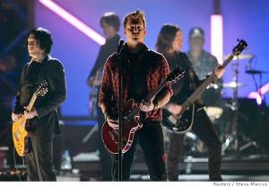 Queens of the Stone Age performing live