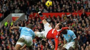 Rooney's overhead kick against City