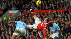 Rooney's overhead kick against City