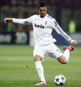 Cristiano Ronaldo for Real Madrid