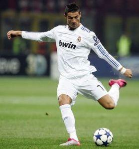Cristiano Ronaldo for Real Madrid