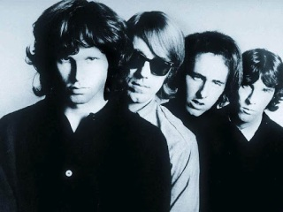 The Doors posing for a photo